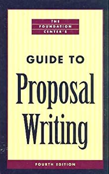 Hardcover The Foundation Center's Guide to Proposal Writing Book