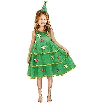 Disfraz Árbol de Navidad para niña 4-6 años: Amazon.es: Juguetes y ...