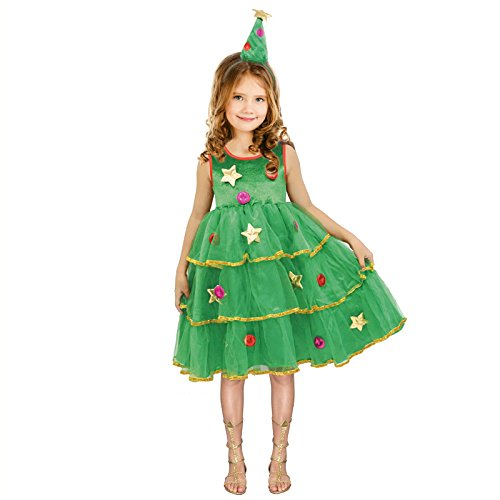 Disfraz Árbol de Navidad para niña 2-4 años: Amazon.es: Juguetes y ...