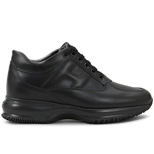 Hogan HXW00N00010 HQKB999 - Zapatillas deportivas para mujer, color negro Negro Size: 39 EU