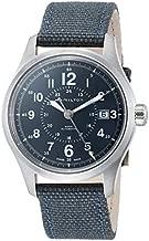 Hamilton Khaki Field Automatic Blue Dial Men's Nylon Watch H70305943