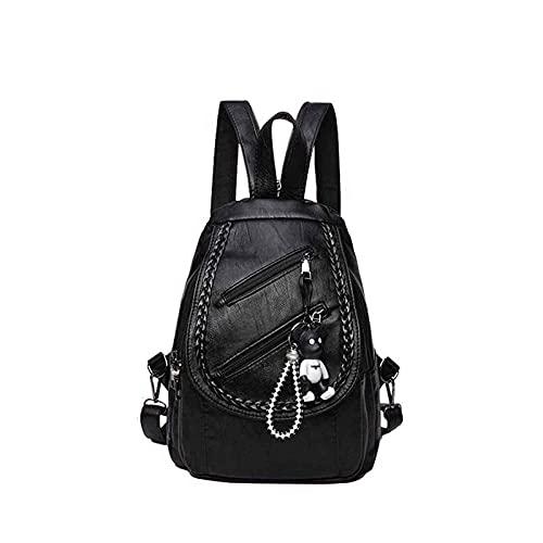 Sommer Damen Nylon Rucksack mit vielen Taschen wasserdichte Reiserucksäcke mit großer Kapazität