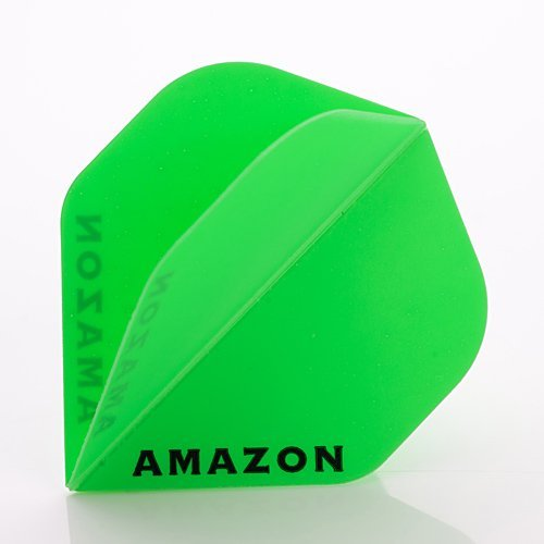 3-ER SETS AMAZON DARTS FLIGHTS STANDARD GRÜN