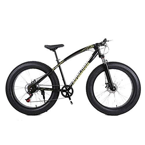 Aohi WXQ-XQ Outdoor Sports Fat Bike, 26 inch Cross Country Mountain Bike 27 Speed Beach Snow Mountain 4.0 Big Tires Adult Outdoor Riding,A Outdoor Sports Mountain Bike (Color : B)
