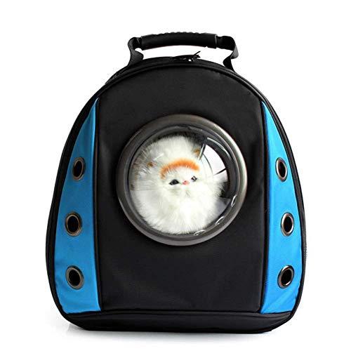 QIAOYI Mochila para Mascotas Bolsa De Espacio Transpirable De Doble Hombro para...