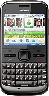 Nokia E5 (250 MB, WiFi + 3G, Dark Grey)