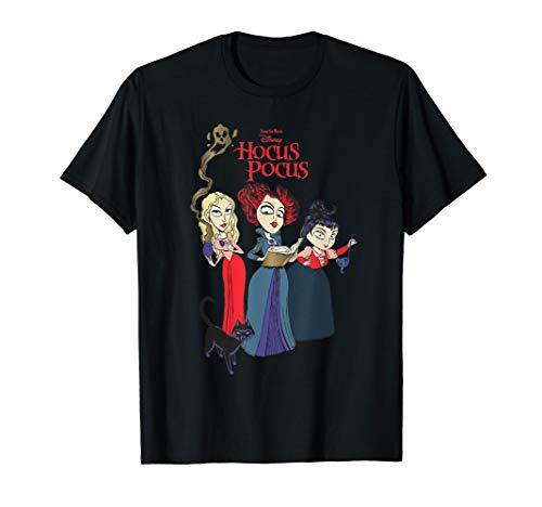 Disney Hocus Pocus Sanderson Sisters Witch T-Shirt