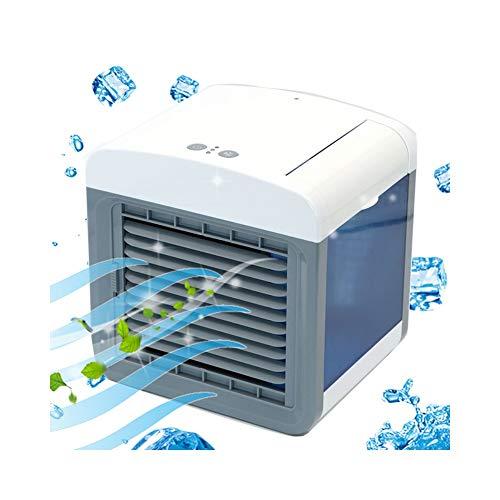 guomao Mini Ventilador de enfriamiento de Aire portátil Ventilador de enfriamiento de Aire para el hogar Ventilador de Aire Acondicionado USB Purificador Purificador de Aire de Escritorio