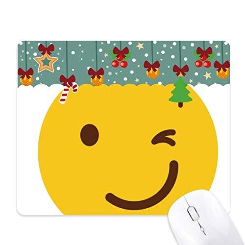 Tapete de ratón con diseño de emoticonos, color amarillo