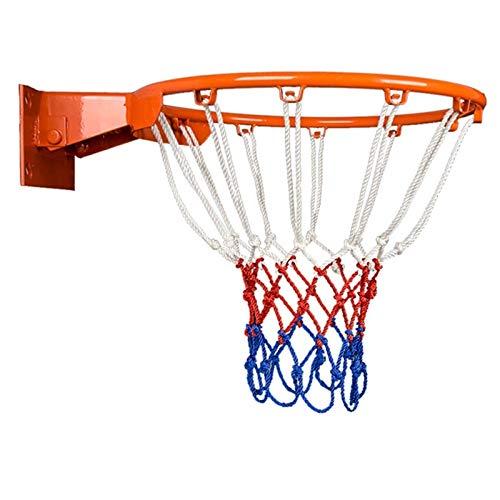 WENZHE Basketballkorb Basketball Netz Set Basketballring Mit Ring Basketball-Board Doppelte Feder An Der Wand Montiert Erwachsene Bewegung, Korbring Durchmesser 45cm (Color : B)