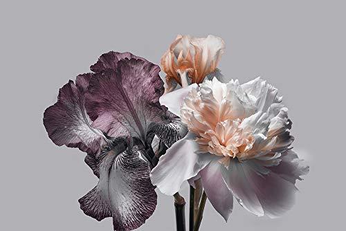 DesFoli Blumenstrauß Blüten Poster Kunstdruck Fotoposter P2251 Größe 30 cm x 20 cm