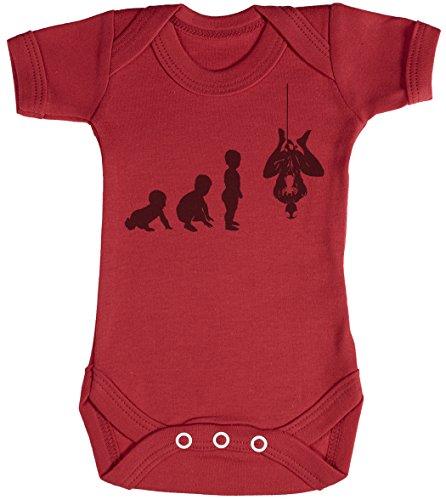 Baby Evolution to A Spider Man Body bébé - Gilet bébé - Body bébé Ensemble-Cadeau - Naissance Rouge
