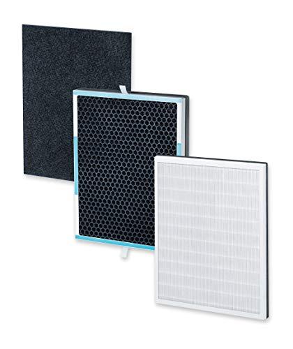 Beurer LR 500 Filter Nachkaufset, dreischichtiges Filtersystem, HEPA-Filter H13, Aktivkohlefilter, Vorfilter, für den Beurer Luftreiniger LR 500