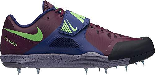 Nike Unisex-Erwachsene Zoom Javelin Elite 2 Leichtathletikschuhe, Mehrfarbig (Bordeaux/Lime Blast/Regency Purple 600), 42 EU