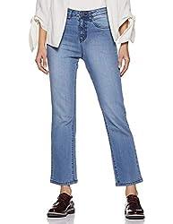 AKA CHIC Womens Straight Jeans