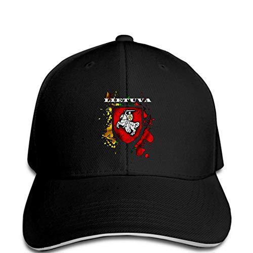PRWJH - Gorra de béisbol para hombre, diseño de bandera y Vytis