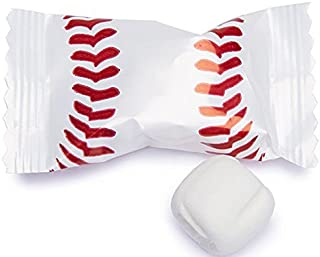 Baseball Themed Buttermints 100 Count Wrapped - Mint Candy