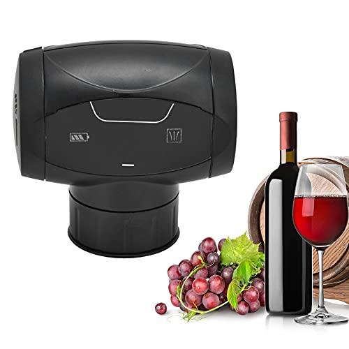 Tapones De Vino Eléctricos, Tapón De Botella De Vino Reutilizable, Protector De Vino Al Vacío Con Silicona De Grado Alimenticio, Bomba De Vacío Automática Para Conservar El Vino Para Mantener El Vino