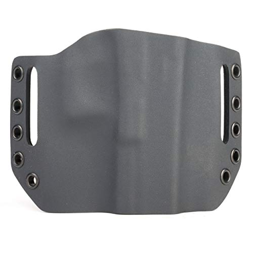 Infused Kydex USA Black OWB Holster (Right-Hand, for Glock 19/23 Polymer 80 - PF940C)