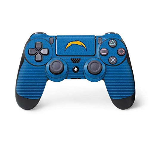 Skinit Decal Gaming Skin for PS4 Controller - Officially Licensed NFL Los Angeles Chargers Breakaway Design