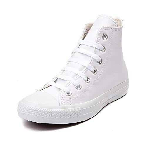 Converse Herren Chuck Taylor All Star Leather Hi, Weiß, Größe 38 EU
