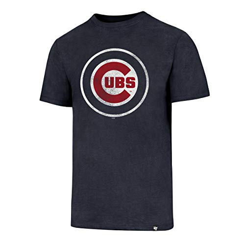 47 Brand Chicago Cubs Knockaround Club MLB T-Shirt Navy, L