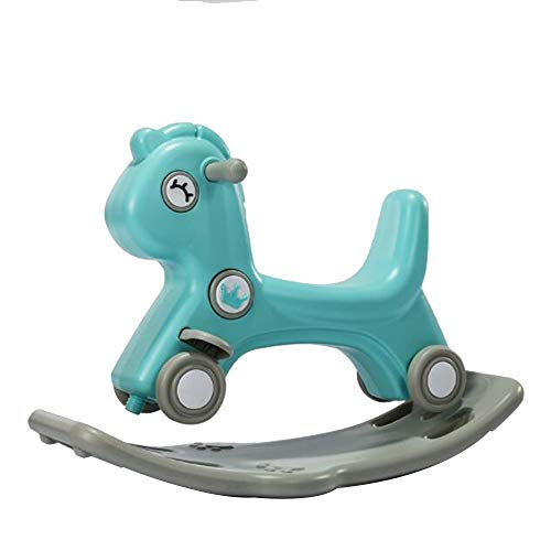 Lowest Prices! YUMEIGE Rocking Ride-Ons Rocking Animal,PP Material、1-6 Year Old Play、Kid Ridin...