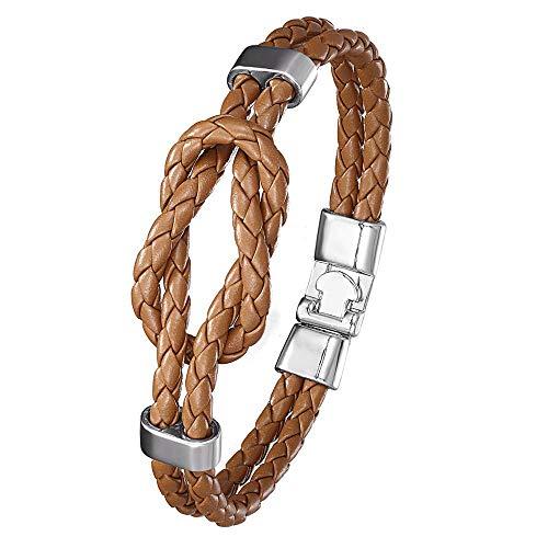 Bracelets, Leather Bracelet With Knot, For Men, Bracelets For Women Bracelet, Friendship Gift 4