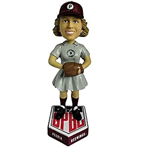 Peoria Redwings AAGPBL Girls Baseball Bobblehead - Numbered to Only 500 Bobblehead