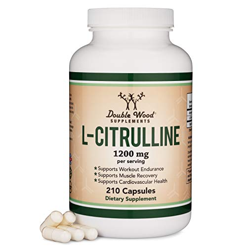 L Citrulline Capsules 1,200mg Per Serving, 210 Count (L-Citrulline...