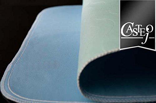 Fiducia 4er Pack Inkontinenzunterlage/Auflage, Krankenauflage, Matratzen, Pflege, grün-blau o. blau-weiß ca. 90x75cm von Castejo, waschbar, Krankenunterlage, Matratzenschutz CA3302/C (4)