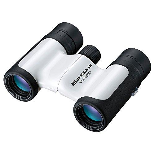 Nikon Aculon W10 10X21 - Binoculares (ampliación 10x, Objetivo 21 mm, Enfoque CF), Color Negro