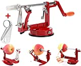 Best Apple Peelers - Apple Peelers,Apple Peeler Corer Slicer Suction Base Durable Review