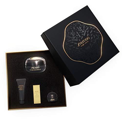 Shiseido future solution lx ojos y labio 17ml + jabon limpiador 15ml + lx crema 15ml + lx serum 5ml