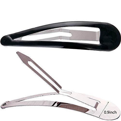 Loneedy lange Haarklammern, aus Metall, 8,9 cm lang, rutschfest, 10 Stück, für Damen und Mädchen