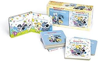 Uitdeelboekjes: 10 feestelijke uitdeelboekjes in doosje