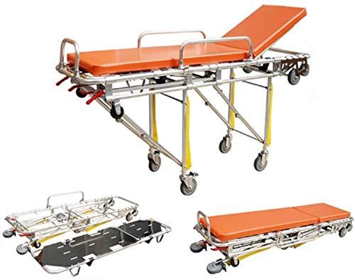 GLJY Automatische Ladebahre aus Aluminiumlegierung, Krankentrage, faltbar und abnehmbar, für Krankenhäuser, Transport der Verwundeten