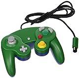 TTX Tech Controller - Gamecube Nintendo Wii - Green-Blue