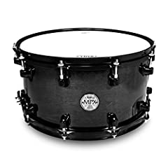 Mapex MPML4800BMB 8x14-Inch MPX Maple Snare Drum, Transparent Black