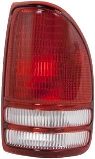 OE Replacement Dodge Dakota Passenger Side Taillight Lens/Housing (Partslink Number CH2801126)