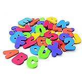 Fliyeong Premium 36PCS Zahlen und Buchstaben Puzzle Badespielzeug -