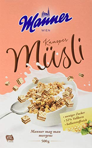 Manner Knusper Müsli, 1 x 500 g
