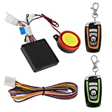 Best Motorcycle Alarm Systems - 12V Universal Motorcycle Alarm System Remote Control Engine Review