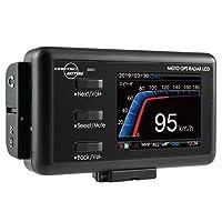 デイトナ バイク用 レーダー探知機 液晶表示 Bluetooth対応 更新データ無料ダウンロード 防水 バッテリー駆動もOK MOTO GPS RADAR 4 99247