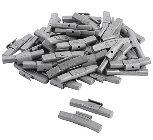 DWT-Germany 100586 50 Stück 40g Schlaggewichte Auswuchtgewichte Wuchtgewichte Für Stahlfelgen Aus Stahl Verzinkt