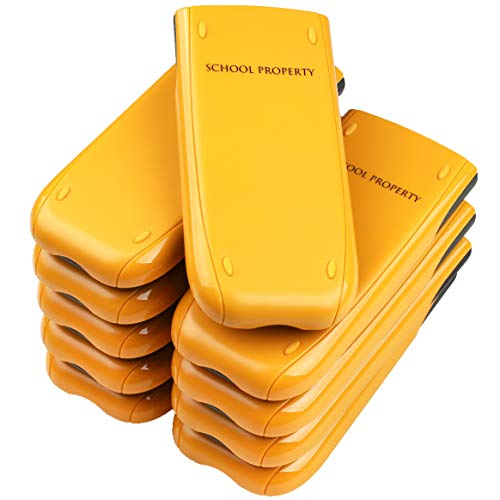 TI-84 Plus Graphing Calculator Teacher Set Pack (10 Calculators) + Guerrilla Teacher Set of Screen Protectors (Renewed)