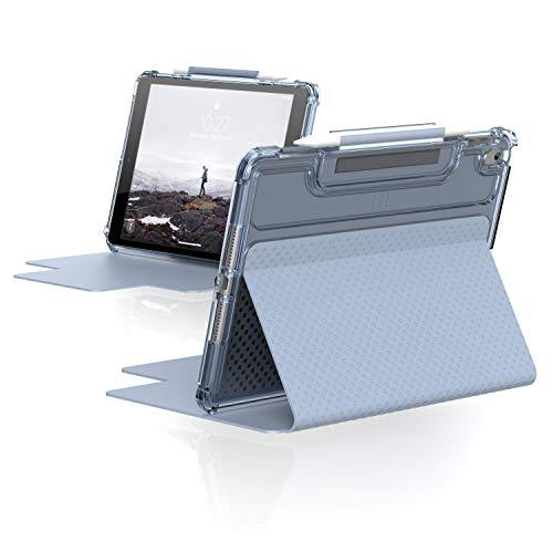 U by UAG [U] Lucent Case Apple iPad 10,2 Pulgadas (2020 & 2019) - Funda (función Atril, Encendido y Apagado, Tapa Frontal magnética, Soporte para lápiz de Apple), Color Azul