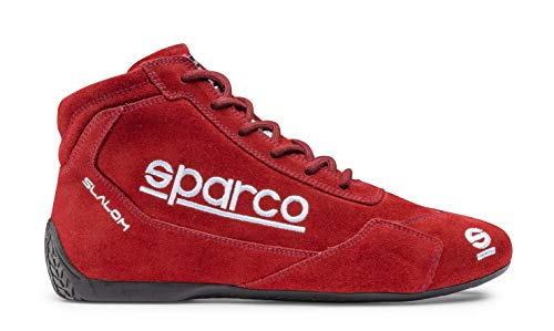 Sparco 00126444AZ Botines Racing Slalom, Rojo, 44 EU