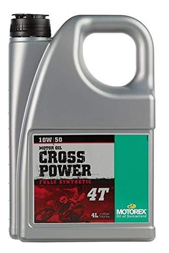 Huile MOTOREX Synthetique Cross Power 10w50 4 T 4 litres