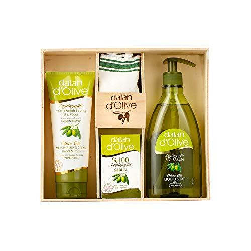 Dalan d'Olive Geschenkeset Olive 4teilig